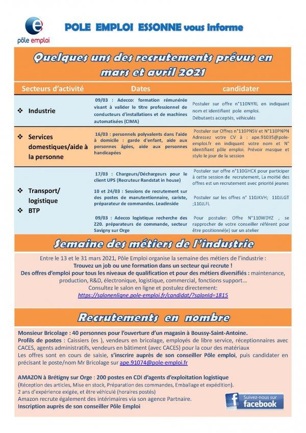 Newsletter Pôle Emploi 91 mars-avril 2021.jpg
